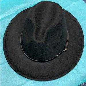 Accessories - Fedora hat black